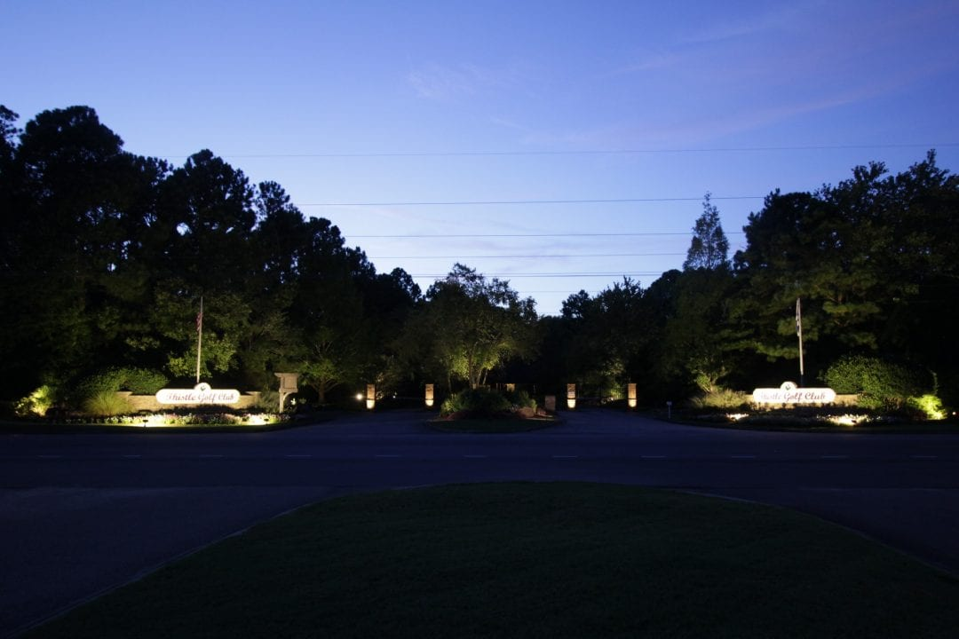 Thistle Golf Club Entrance Lighting